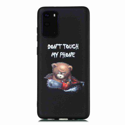 Painted TPU Phone Case for Samsung Galaxy S20 Plus