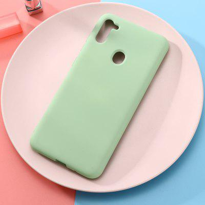 Płynny silikon Phone Case do Samsung A11