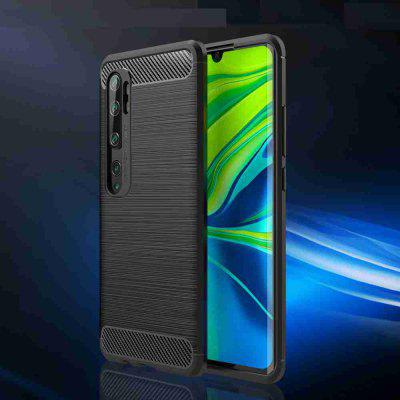 Carbon Fiber Brushed Phone Case for Xiaomi CC9 Pro / Note 10 / Note 10 Pro
