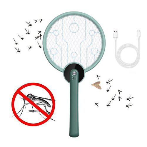 Portable Physical Electric Mosquito Swatter Foldable Mosquito Killing Lamp USB5V