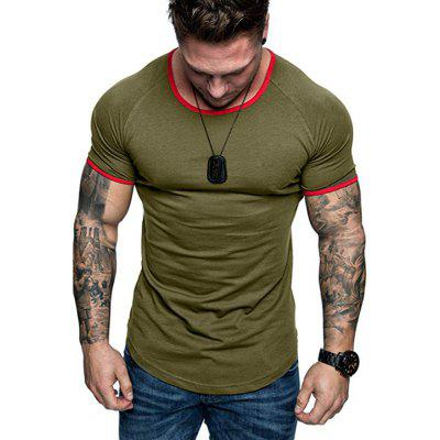 2020 Euro Code Foreign Trade New Men'S Round Neck Short Sleeve T-Shirt