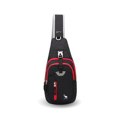 OIWAS Small Sling Backpack Lightweight One Strap Bag Hiking Crossbody Chest Pack
