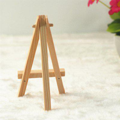 140111 Triangle Suport original din lemn de pin de decorare display (10 seturi)