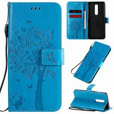 Tree Cat Embossing Phone Case for One Plus 8