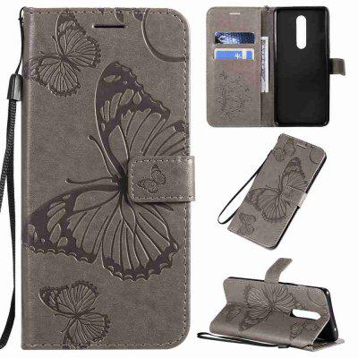 Butterfly dombornyomás Phone Case for One Plus 8
