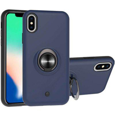 2-IN-1-GYRO Dekompresja PC + TPU Phone Case for iPhone X / XS