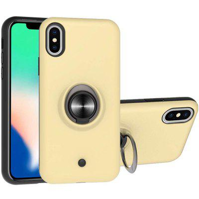 2-in-1-GYRO Decompression PC + TPU Phone Case voor iPhone Xs Max