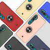 2-IN-1-GYRO Decompression Phone Case for Xiaomi CC9 Pro / Note 10 / Note 10 Pro - RED WINE