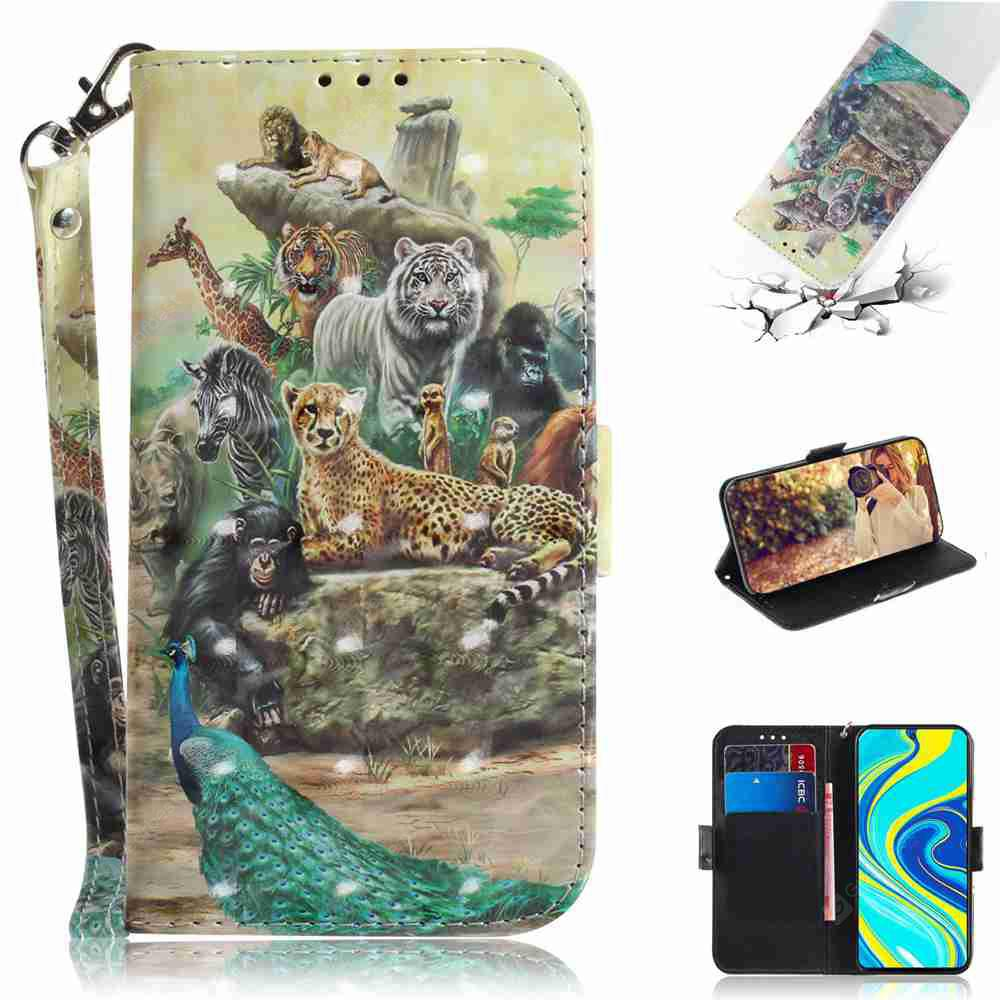 """""""3D Painted Phone Case for Xiaomi Redmi Note 9 Pro Max / Note 9S/ Note 9 Pro - Multi-S"""""""