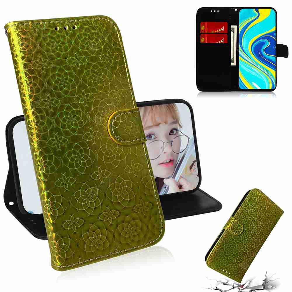 """""""Dazzling Phone Case for Xiaomi Redmi Note 9 Pro Max / Note 9S/ Note 9 Pro - Gold"""""""