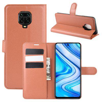 CHUMDIY PU Leather Full Body Phone Case voor Xiaomi redmi Note 9S / Note 9 Pro