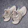 Men Sneakers Male Breathable Gym Casual Male shoes - BEIGE