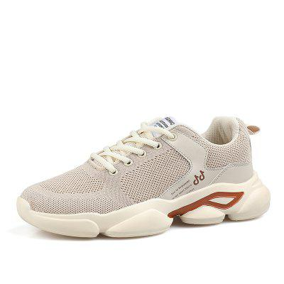 Men Casual Shoes breathable Men Sneakers Walking Mesh Lace Up Shoes