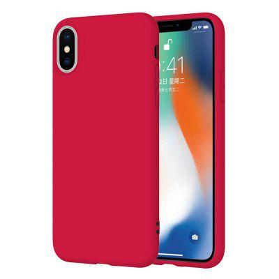 Matte TPU Solid Color Phone Case for iPhone X / Xs