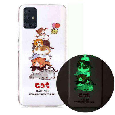 Luminous Painted Upscale TPU Phone Case for Samsung Galaxy A71