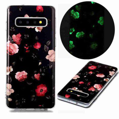 Luminous Painted Upscale TPU Phone Case for Samsung Galaxy S10