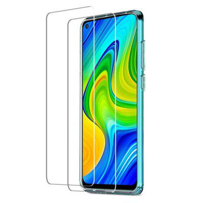 Tempered Glass Screen Protector for Xiaomi Redmi Note 9s / Note 9 Pro 2PCS 2pcs frosted matte 9d tempered glass for xiaomi poco m3 x3 nfc f2pro redmi note 9 9s 9 pro anti fingerprint screen protector protective film