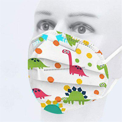 20PCS Children KN95 Anti Pollution Masks Dust PM2.5 Face For Kids