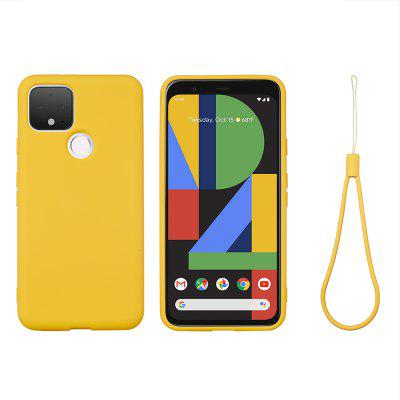 Liquid Silicone Stylish Shell for Google Pixel 5