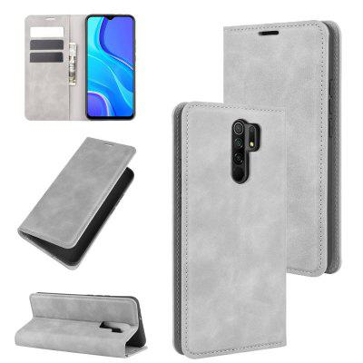 Luxury Protection Magnetic Full Body Leather Phone Case for Xiaomi Redmi 9