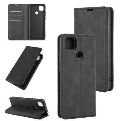 Luxury Protection Magnetic Full Body Leather Phone Case for Xiaomi Redmi 9C