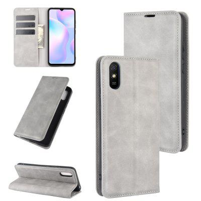 Luxury Protection Magnetic Full Body Leather Phone Case for Xiaomi Redmi 9A