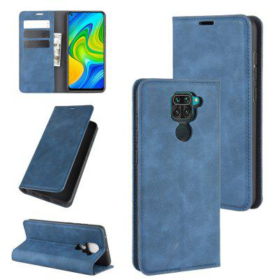 CHUMDIY PU Leather Full Body Phone Case with Stand for Redmi Note 9/10X 4G