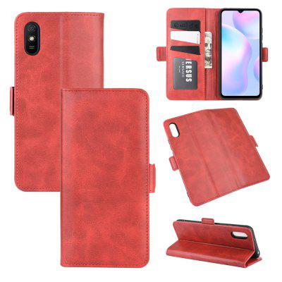 CHUMDIY PU Leather Flip Magnetic Wallet Phone Case for Xiaomi Redmi 9A