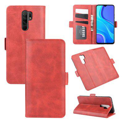 CHUMDIY PU Leather Flip Magnetic Wallet Phone Case for Xiaomi Redmi 9