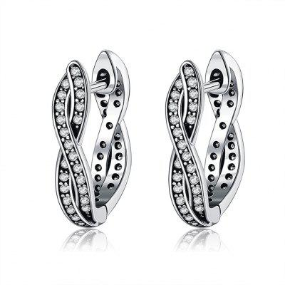 Wheel of Fortune 925 Sterling Silver Stud Earrings for Women