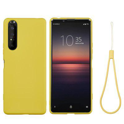 Soft Liquid Silicone Mobile Phone Case for Sony Xperia 5 Plus / Xperia 1 II