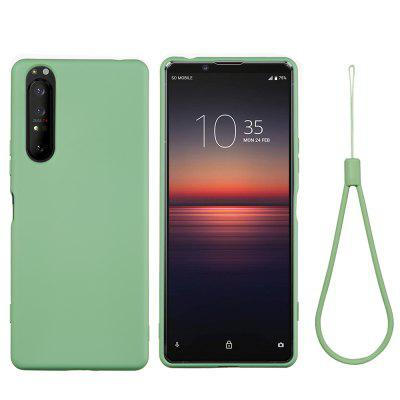 Soft Liquid Silicone Mobile Phone Case for Sony Xperia 5 Plus / Xperia 1 II смартфон sony g3412 xperia xa1 plus dual 32gb gold