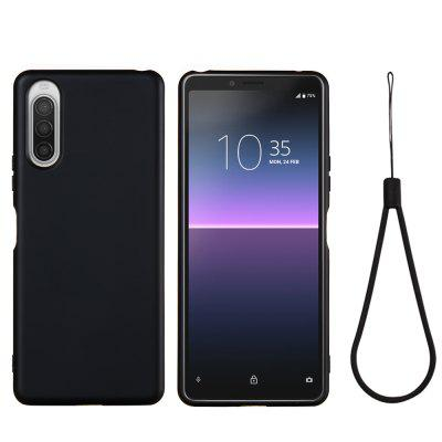 Soft Liquid Silicone Mobile Phone Case for Sony Xperia 10 II