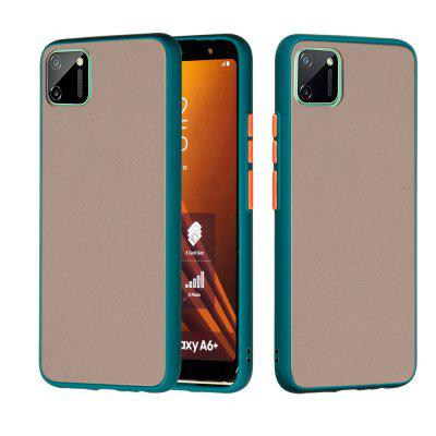 Frosted Anti-Drop PC TPU Hybrid Mobile Phone Case for Oppo Real C11