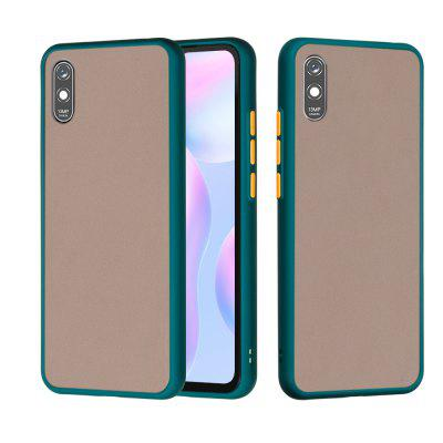 Frosted Anti-Drop PC TPU Hybrid Mobile Phone Case for Xiaomi Redmi 9A