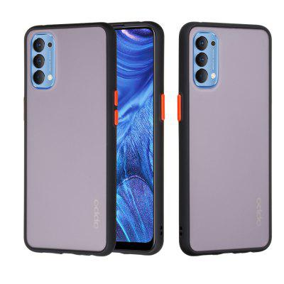 Frosted Anti-Drop PC TPU Hybrid Mobile Phone Case for Oppo Reno 4-4G