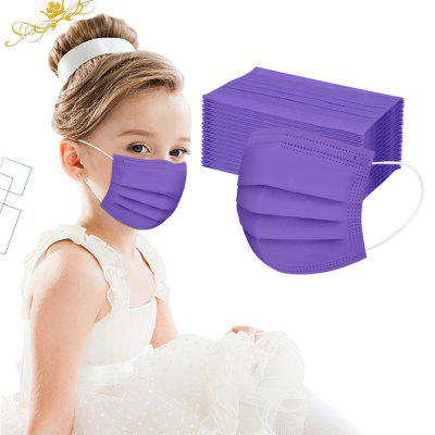 Disposable Boy And Girl Colorful Masks For Children 3-Layer Mask Dustproof 50PCS