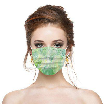Disposable Color Safety Mask Dust-Proof Breathable Non-Woven