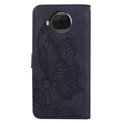 Butterfly Wallet Leather Case For Xiaomi 10T Lite (5G) Cover Luxury Flip