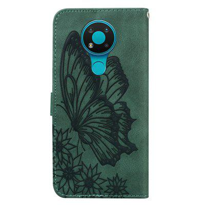Butterfly Wallet Leather Case For Nokia 3.4  Cover Luxury Quality Flip