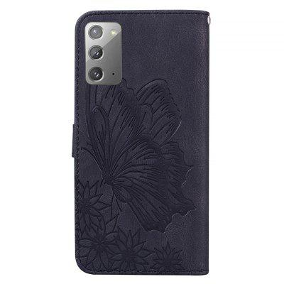 Butterfly Wallet Leather Case For Samsung Galaxy Note 20 Cover Luxury Flip