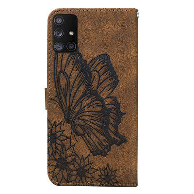 Butterfly Wallet Leather Case For Samsung Galaxy A51 Cover Luxury Flip
