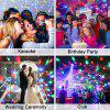 YouOKLight 3W RGB Mini Magic Ball Colorful Car Stage Lights USB Voice Activated LED Disco Crystal Rotating Lamp - RGB