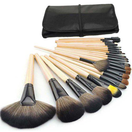 TODO 24pcs High Quality Micro Fiber Makeup Brushes