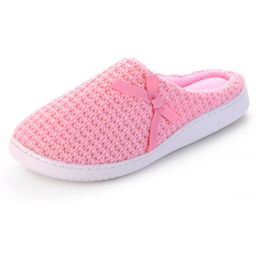 ce753209a787 Ladies Cashmere Cotton Knitted Anti-slip House Slippers