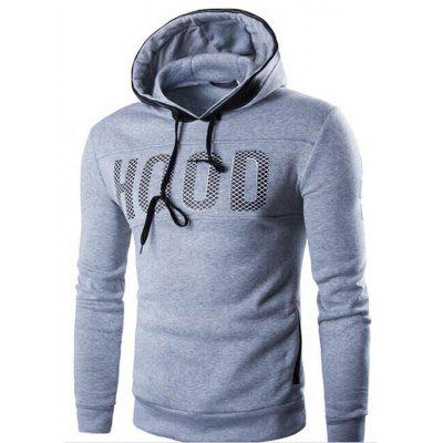 YOONHEEL Mens Sweatshirt Spring and Autumn Letters Print Solid Color  Casual Wear