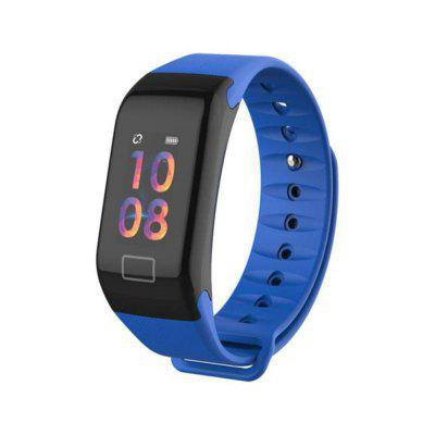 F1 Plus Smart  Color Screen Sports IP67 Waterproof Smart Bracelet With Heart Rate Monitoring Sports