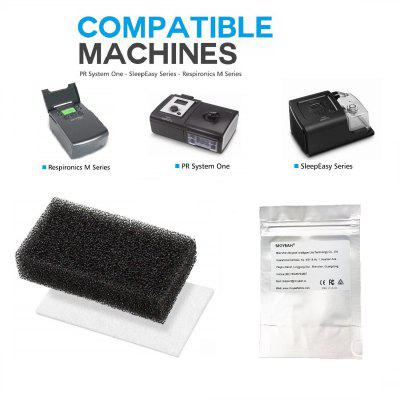 Ultra Fine CPAP Foam Filters for Philips Respironics M Series and PR System One and SleepEasy Series