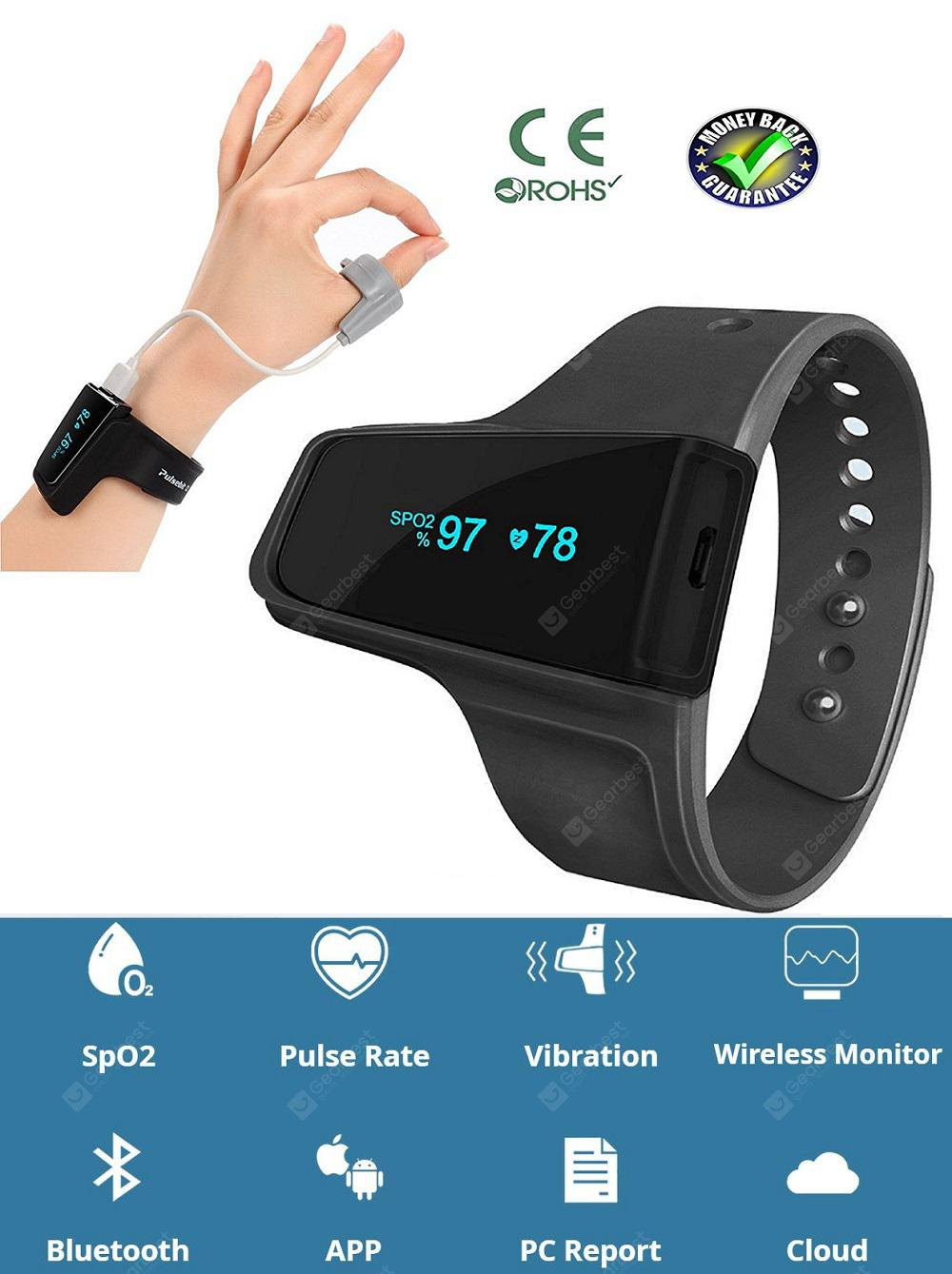 MOYEAH Sleep Aid Watch Monitor Heart Rat