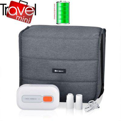 MOYEAH Mini Travel CPAP Cleaner Disinfector Sterilizer With Sanitizer Bag and 2pcs Hose Adaptors